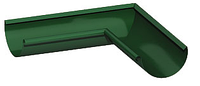 Водосточная система металлическая круглого сечения (МП Престиж) Угол желоба 90 градусов внутренний металлический