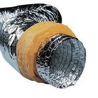 Теплоизолированные алюминиевые воздуховоды
