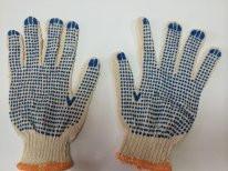 Перчатки рабочие, перчатки ХБ с ПВХ