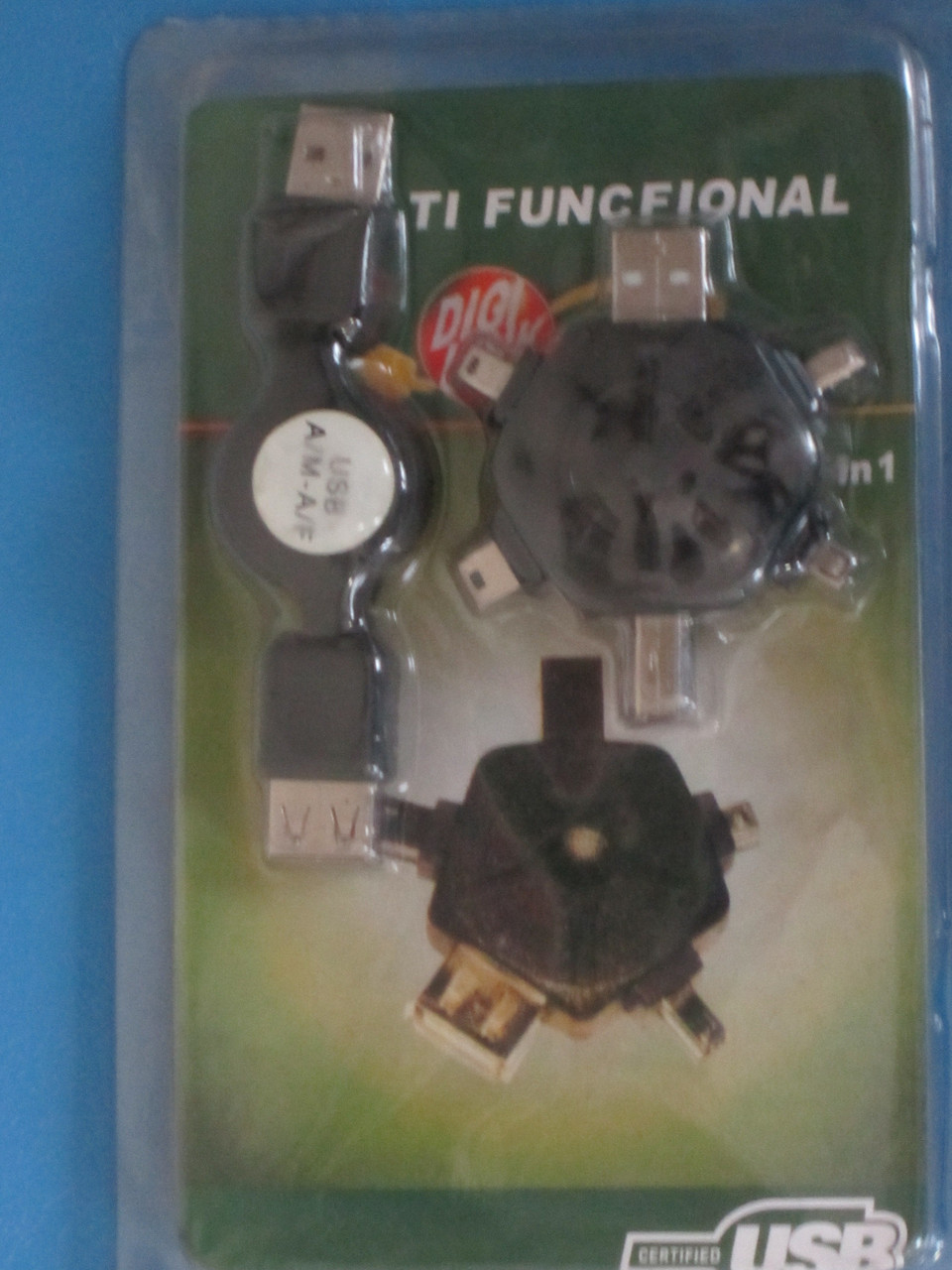 Multi-functional USB переходник