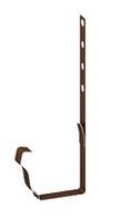 Водосточная система прямоугольного сечения металлическая Держатель желоба металлический