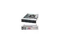 Supermicro X10DRL-I/SC825TQ-R720LP Black• 2U Rackmount