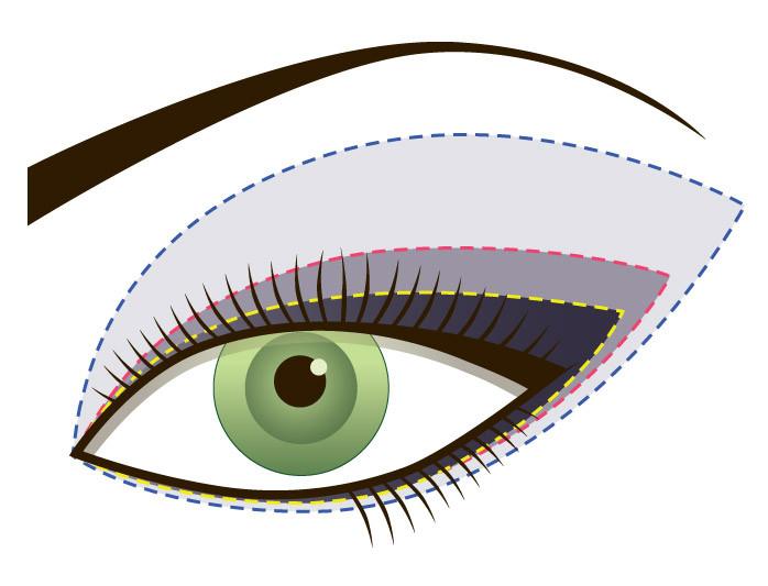 Трафареты для стрелок, трафареты для глаз, трафареты для нанесения теней, Eyeliner fashion - фото 4