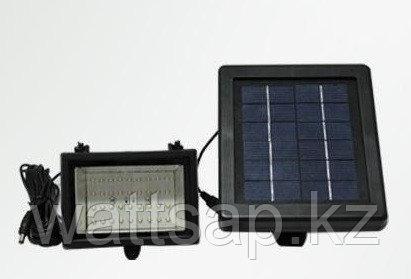 Прожектор автономный с солнечной панелью и аккумулятором
