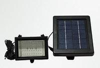 Прожектор автономный с солнечной панелью и аккумулятором, фото 1