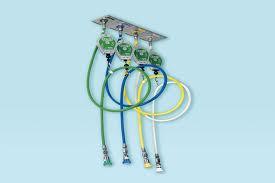 Платформа потолочная для шлангов медицинских газов