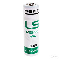 Литиевая батарейка  3.6V Saft LS 14500