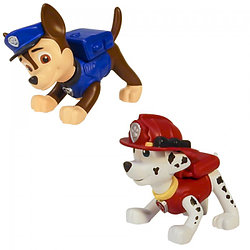Paw Patrol Маленькая фигурка щенка в ассорт. (Гонщик, Маршал)