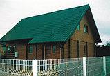 Металлочерепица Монтеррей (RaLL 6005 глянец - зеленый), фото 3