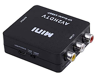 Конвертер видео с A/V на HDMI