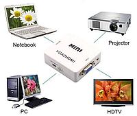 Конвертер видео с VGA на HDMI