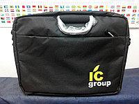 Нанесения логотипа на портфели, сумки