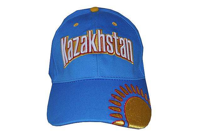 """Бейсболка с надписью """"Кazakhstan"""""""