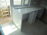 Купить столешницу  из искусственного  камня для кухни алматы, фото 5