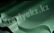 Металлочерепица СуперМонтеррей 6005 - зеленый