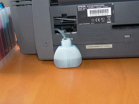 Отвод памперса,слив памперса Epson, фото 2