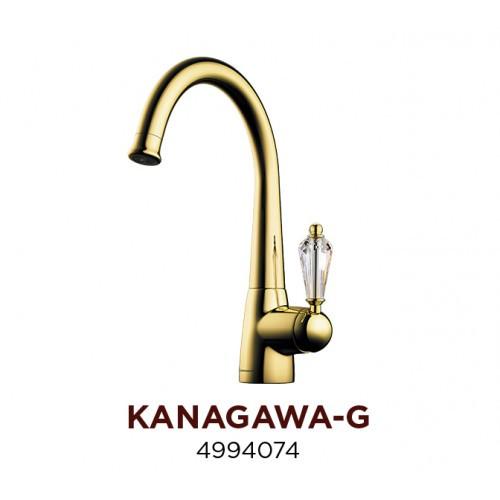 Смеситель OMOIKIRI KANAGAWA-G (4994074), золото