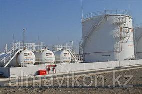 ТЕК Казахстан. Нами была установлена системы видеонаблюдения на топливных складах во всех регионах г.Казахстан