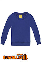 Детская синяя толстовка-свитшот, фото 1