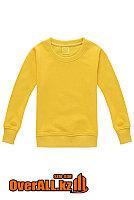 Детская желтый толстовка-свитшот, фото 1
