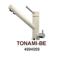 Смеситель OMOIKIRI TONAMI-BE (4994059), ваниль/хром, фото 1