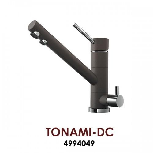 Смеситель OMOIKIRI TONAMI-DC (4994049), темный шоколад /хром