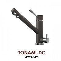 Смеситель OMOIKIRI TONAMI-DC (4994049), темный шоколад /хром, фото 1