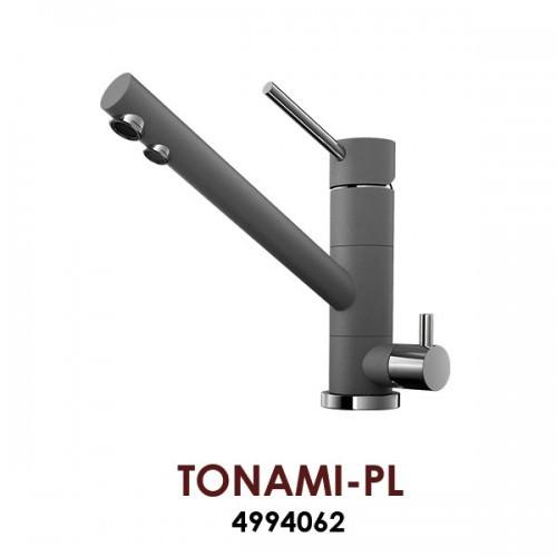 Смеситель OMOIKIRI TONAMI-PL (4994062), платина /хром