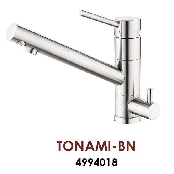 Смеситель OMOIKIRI TONAMI-BN (4994018), нержавеющая сталь