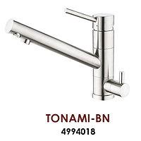 Смеситель OMOIKIRI TONAMI-BN (4994018), нержавеющая сталь, фото 1