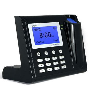 Учет рабочего времени по отпечаткам пальцев Anviz  D100