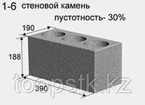 Керамзитобетонные блоки с пустотностью 30%