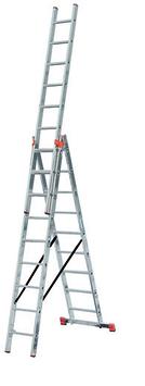 Лестница универсальная Krause Tribilo 3х14 ступеней