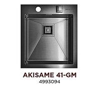 Кухонная мойка стальная OMOIKIRI AKISAME 41-GM (4993094), фото 1