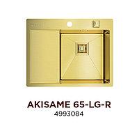 Кухонная мойка стальная OMOIKIRI AKISAME 65-LG-R (4993084), фото 1