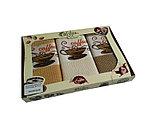 Набор вафельных кухонных салфеток в подарочной коробке., фото 4