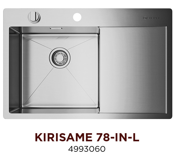 Кухонная мойка OMOIKIRI KIRISAME 78-IN-L (4993060)