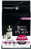 Pro Plan Puppy Medium 12кг с Лососем для щенков средних пород с чувствительной кожей Сухой корм