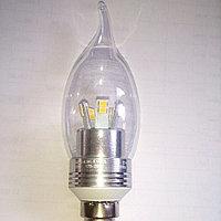 Лампочка Etalin LED 5W=40W/ Е14 Chrom, фото 1