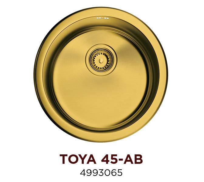 Кухонная мойка OMOIKIRI TOYA 45-AB (4993065)