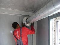 Монтаж вентиляциии в помещениях и зданиях