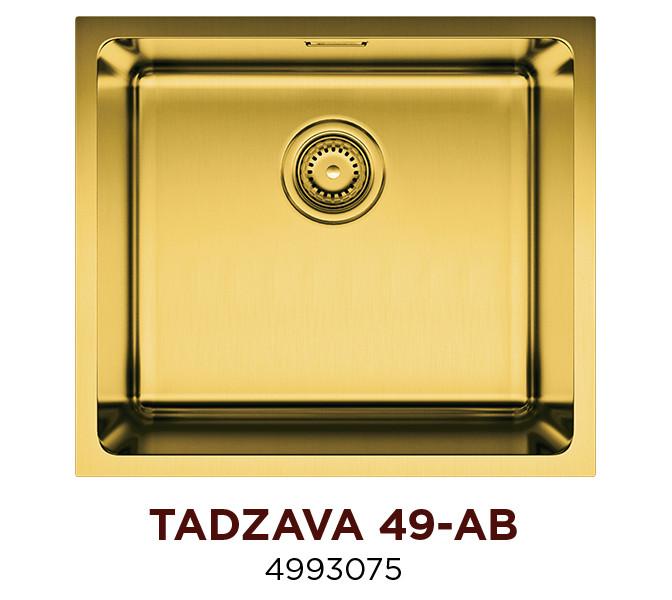 Кухонная мойка OMOIKIRI TADZAVA 49-AB (4993075)