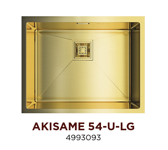 Кухонная мойка OMOIKIRI AKISAME 54-U-LG (4993093)
