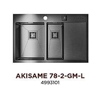 Кухонная мойка OMOIKIRI AKISAME 78-2-GM-L (4993101)
