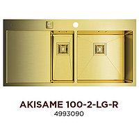 Кухонная мойка OMOIKIRI AKISAME 100-2-LG-R (4993090)