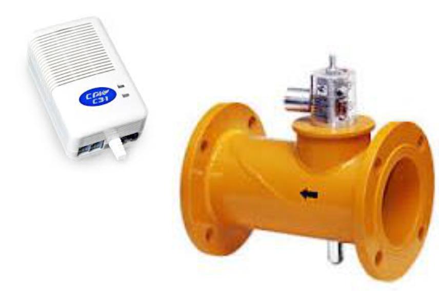 Система Автономного Контроля Загазованности DN80 (СН4) два порога НД