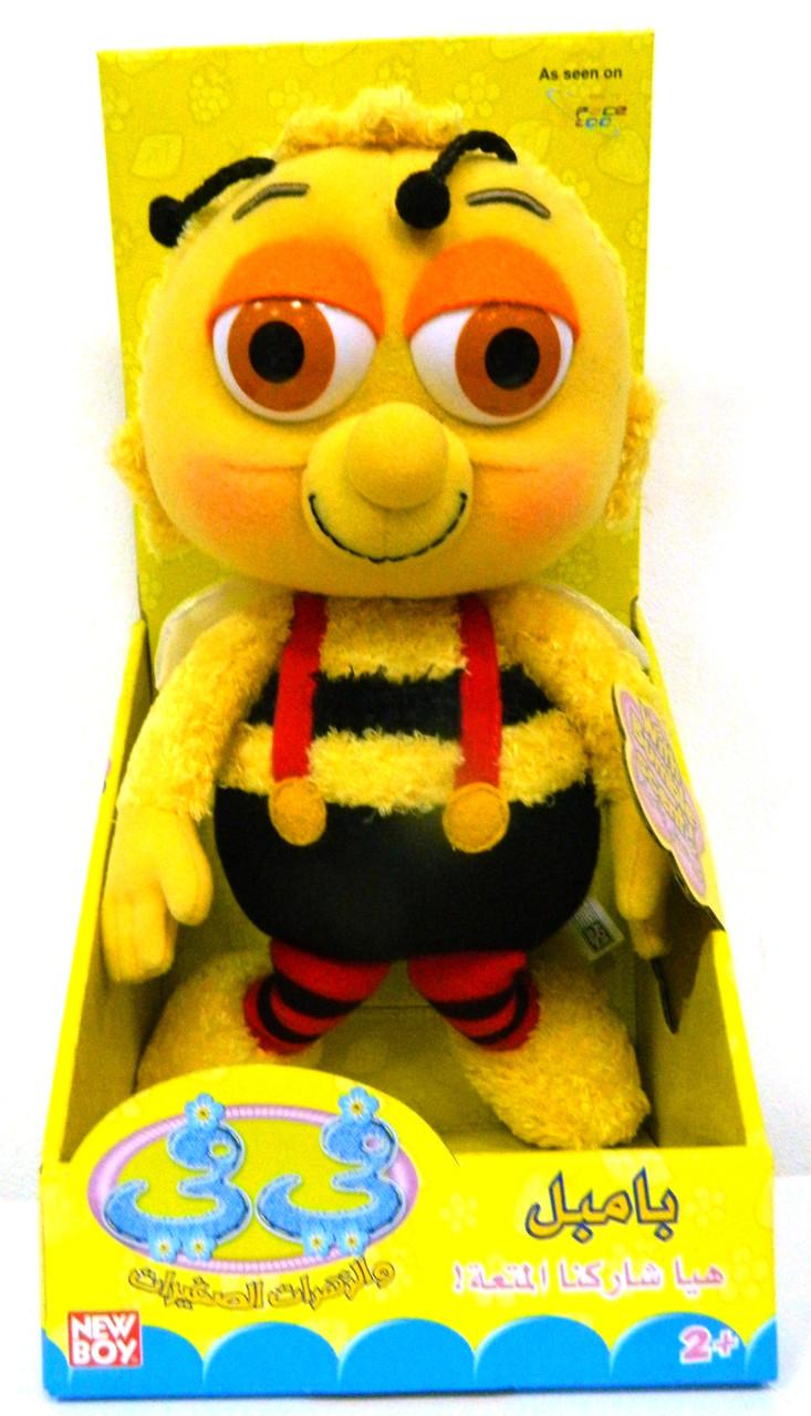 NewBoy Мягкая Игрушка Пчелка