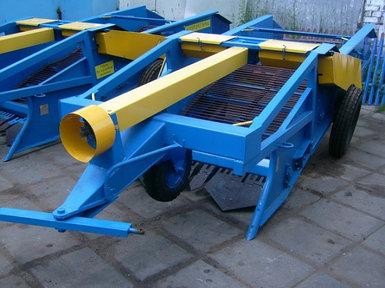 Картофелекопатель полунавесной 2-х рядный  КСТ-1,4М-0.1 (активный битер, ременный)
