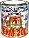 Бкм 200 гидроизоляция мастика каучуко-битумная