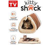 Домик-лежанка для кошек Kitty Shack
